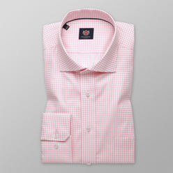 Slim Fit Hemd Willsoor rosa kariert