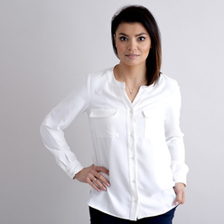 Damen Bluse in Canvas-Farbe 10890, Willsoor
