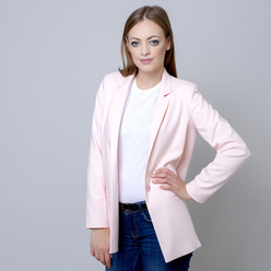 Oversize Damen Anzugjacke in rosa 10919, Willsoor
