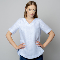 Damen T-Shirt in hellblau 10933, Willsoor
