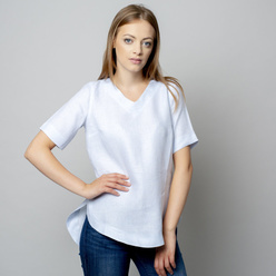 Damen T-Shirt in hellblau 10934, Willsoor