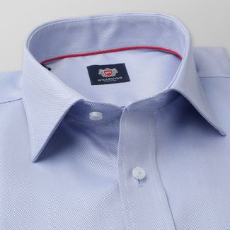 Slim Fit Hemd Willsoor blau gestreift, Willsoor