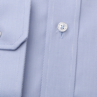 Männer Slim Fit Hemd Willsoor blau gestreift, Willsoor