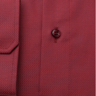Slim Fit Herrenhemd in Rot 11676, Willsoor