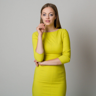 Midi-Kleid in Limette 11900, Willsoor