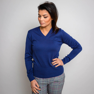 Damen Pullover Willsoor 5145 in Blau, Willsoor