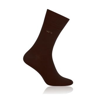 Herren Bambus Socken Willsoor 6931 in Brown farbe