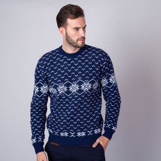 Herren Pulli Willsoor 7434 in dark  blue farbe