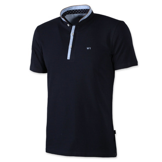 Herren klassisch Polo T-Shirt Willsoor 7944 in dark  blue farbe