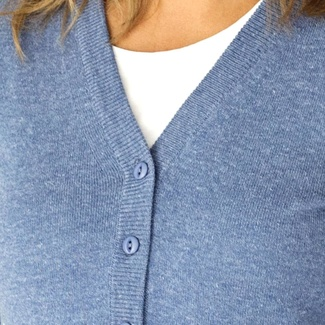 Damen Pullover in Blau Willsoor 8132, Willsoor
